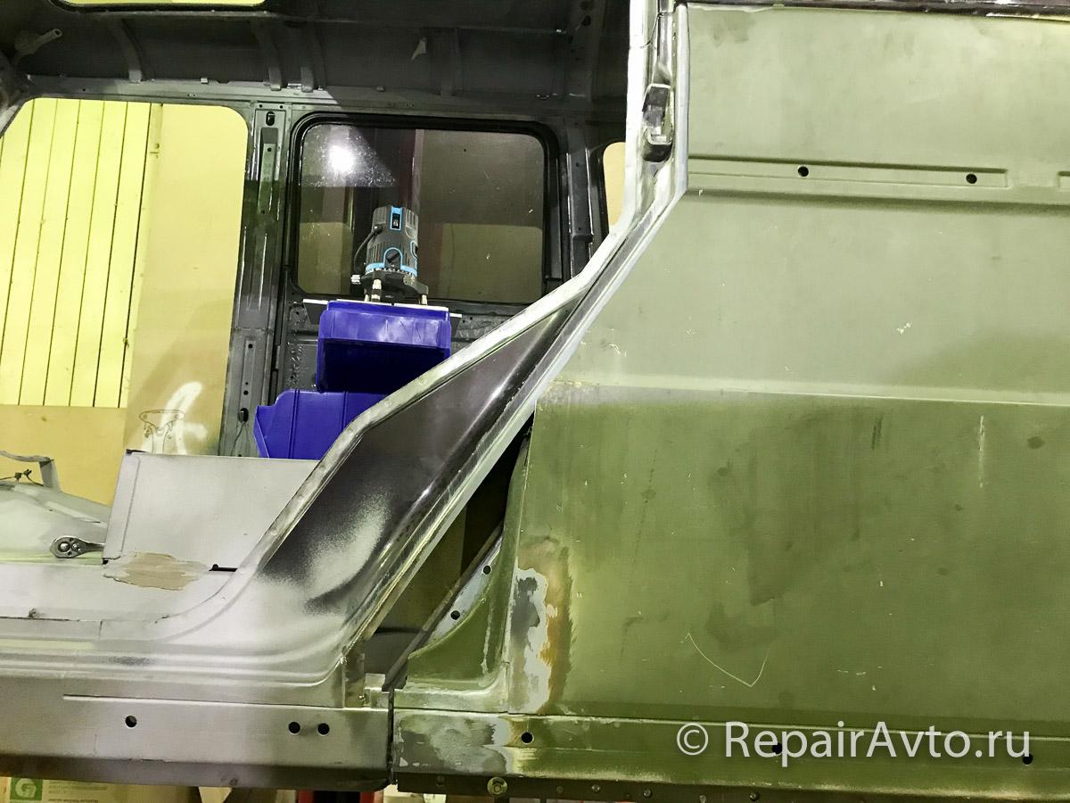 Сварка кузовов пикапа Mercedes G-Class