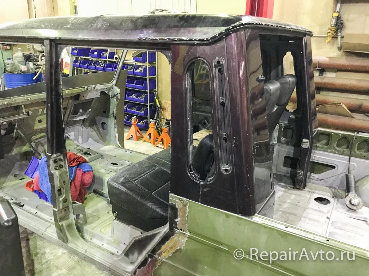Изготовление кузова пикап для Мерседес G-класс