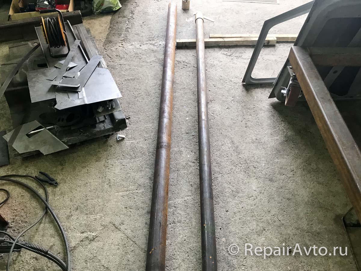 Трубы для восстановления рамы Mercedes G-Class