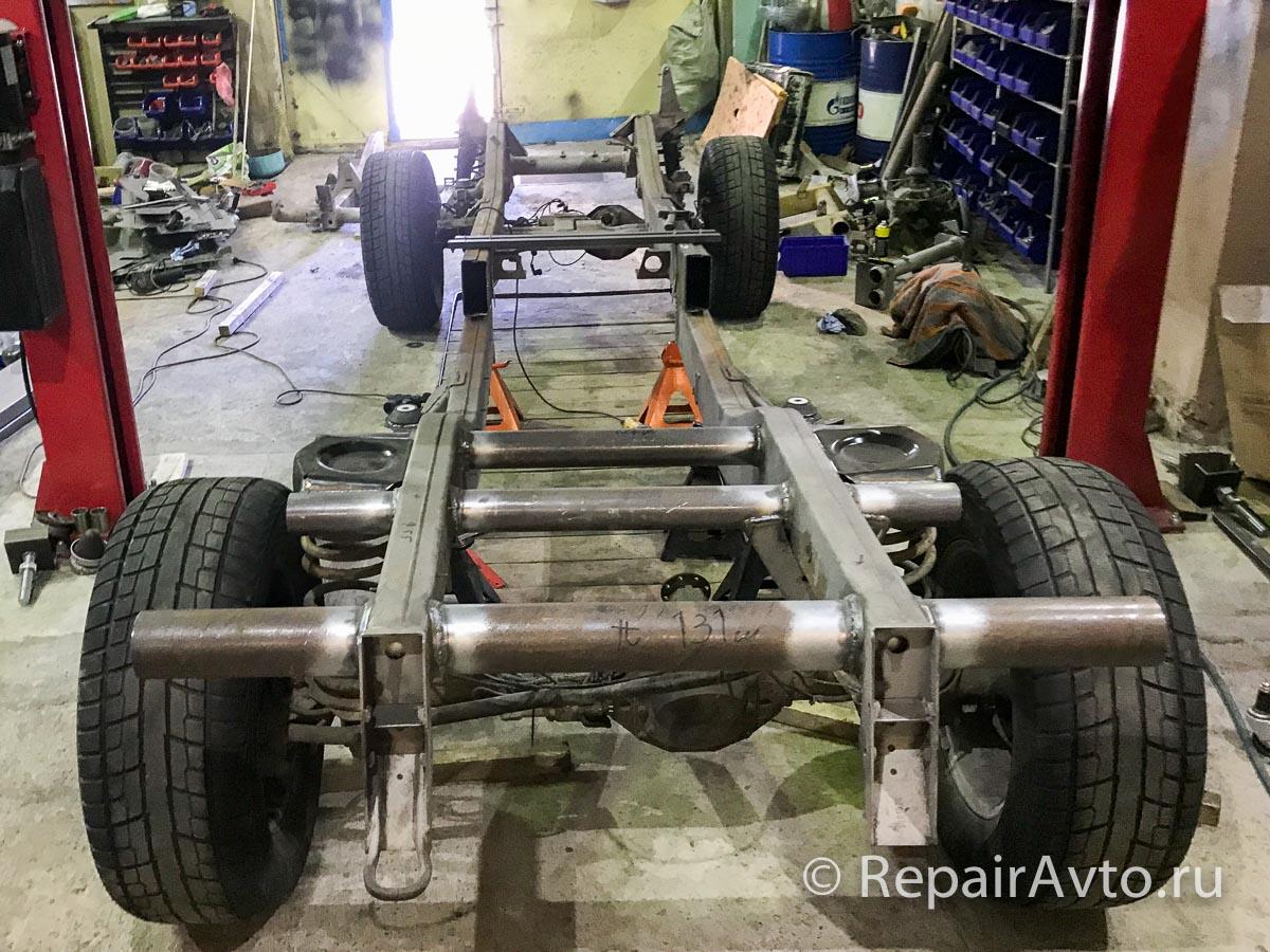 Удлинение рамы Mercedes G-Class пикап