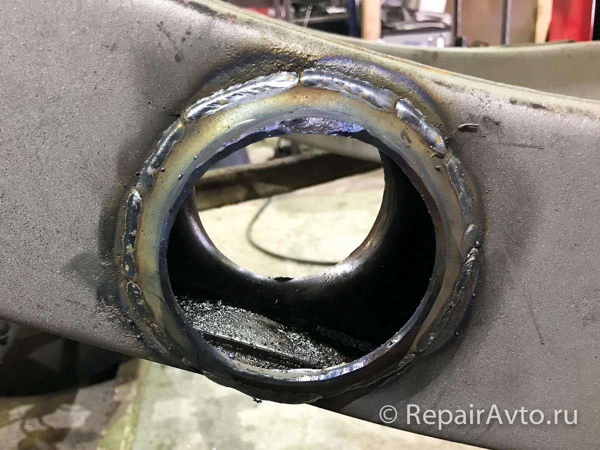 Ремонт рамы Mercedes G-Class пикап