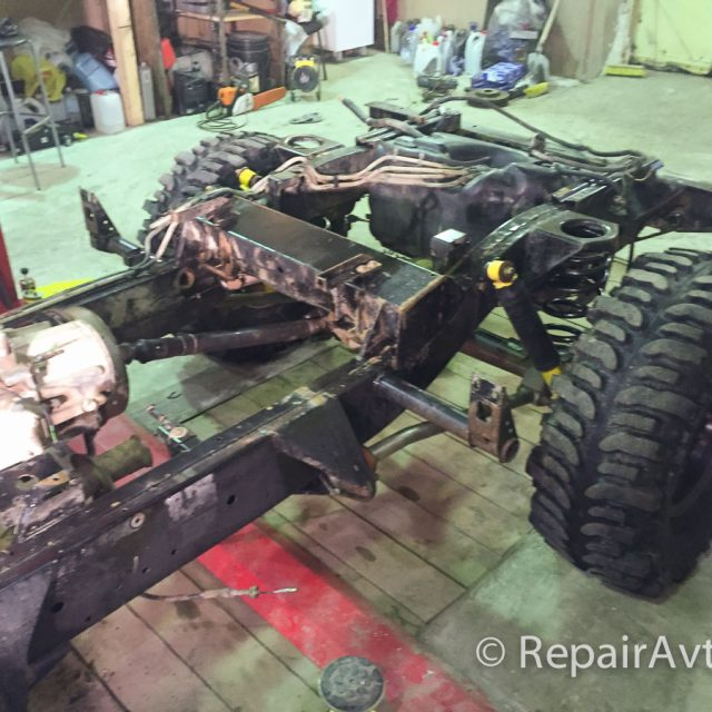 Подготовка Land Rover Defender к Ладога-Трофи