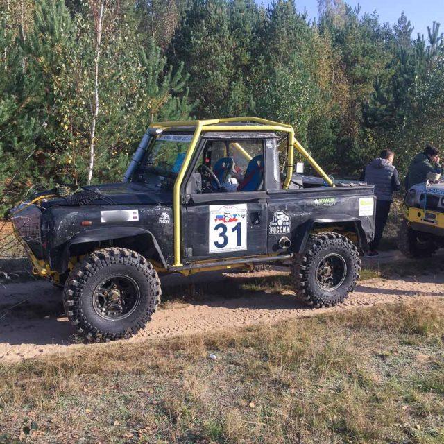 Land Rover Defender на Ладога-Трофи