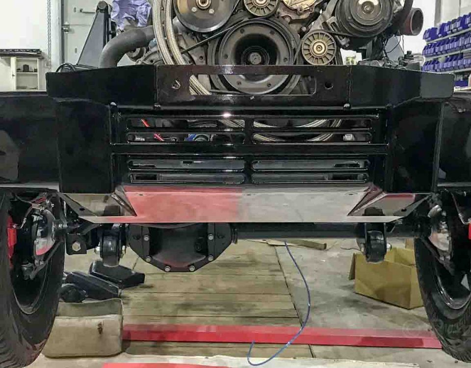 Изготовление защиты двигателя Mercedes-Benz G-Class