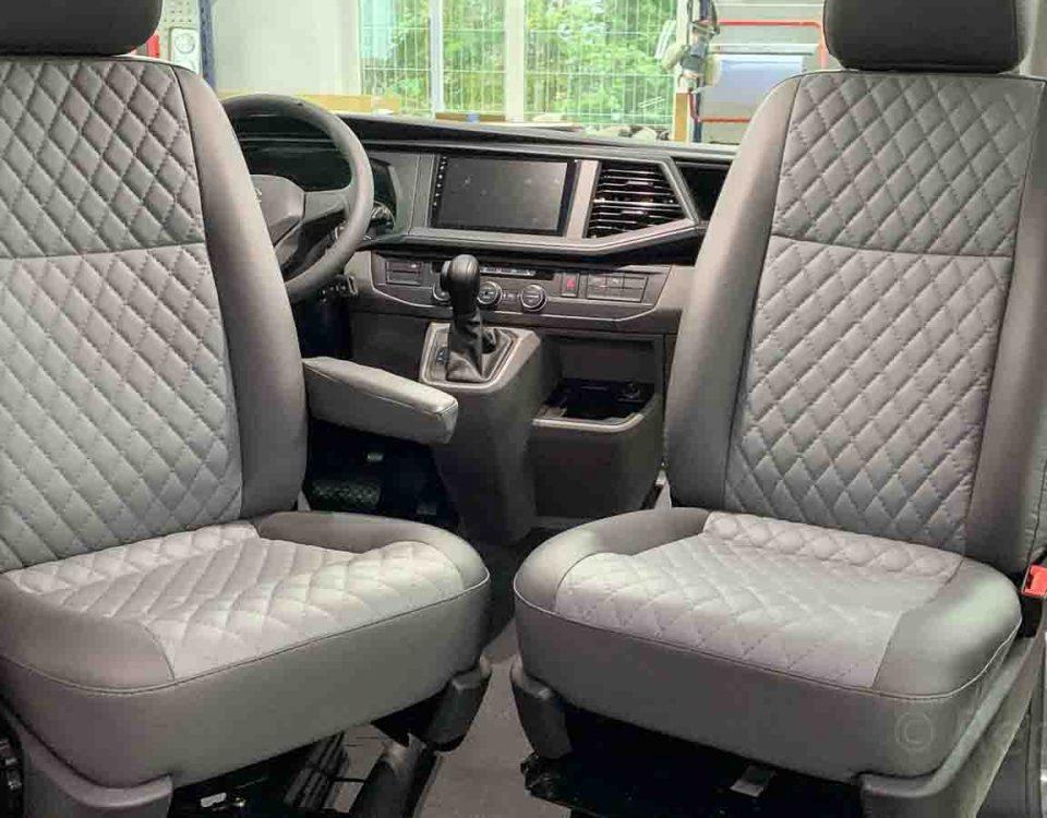Салон автодома Volkswagen Caravelle